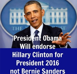 BARACK OBAMA ENDORSES HILLARY CLINTON