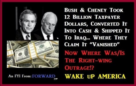 BUSH AND CHENEY THIEVES