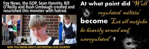 DYLANN ROOF - GOP - FOX KILLERS