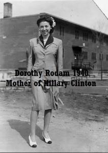 HRC - DOROTHY RODHAM 1940