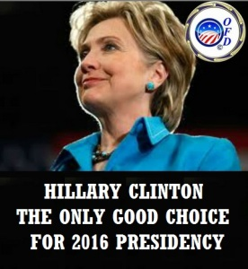 CLINTON CAMPAIGN - THE ONLY 2016 CHOICE