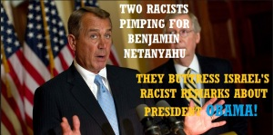 GOP - 2 PIMPS FOR NETANYAHU 2