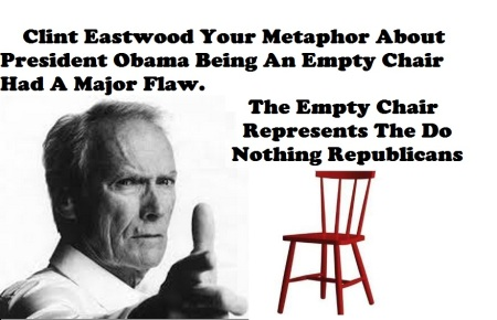 CLINT EASTWOOD - EMPTY CHAIR AUG 6 15