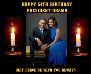 CLINTON CAMPAIGN - HAPPY BIRTHDAY PRESIDENT OBAMA
