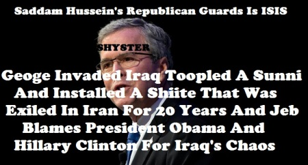 JEB BUSH LIAR AND CROOK