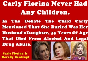 WHITE HOUSE - 2016 CARLY FIORIA MORALLY BANKRUPT 2