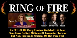 WHITE HOUSE - 2016 FIORINA - RING OF FIRE 2