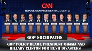 WHITE HOUSE - 2016 GOP SOCIOPATHS
