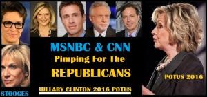WHITE HOUSE - 2016 HRC - MEDIA STOOGES