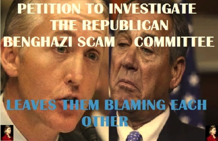 WHITE HOUSE - 2016 BENGHAZI SCAM GOP HRC