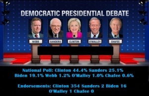 WHITE HOUSE - 2016 DEMOCRAT DEBATE