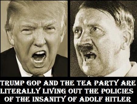 HRC - TRUMP GOP HITLER