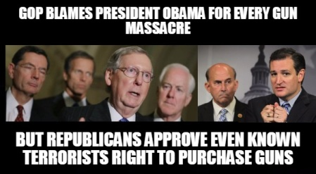 HRC - GOP SENATORS GUNS 1