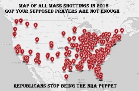 HRC - GUN VIOLENCE GOP